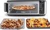 Ninja SP101 Foodi 8-in-1 Digital Air Fry, Large Toaster Oven(Silver)-Refurbished