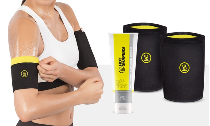 Up To 73 Off On Sweat Arm Wraps And Cellulite Groupon Goods