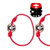 Georgia Bulldogs Stretch Bracelets Set of (2)  Hair Ties - NCAA
