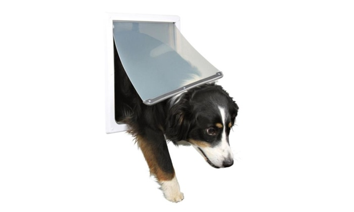 Trixie Pet Products 3879 2 Way Locking Dog Door Medium Extra