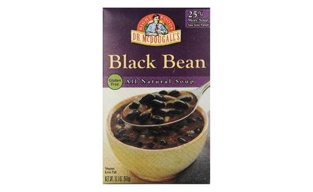 Dr. Mcdougall's Gluten Free Black Bean Soup, 18.3 Ounce (Pack of 6) 968a66d7-51c8-47d2-9f04-b4c3a2032a2f