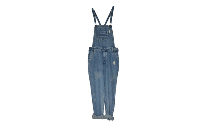 Women's Outdoor High Rise Pull On Style Wide Leg Jeans