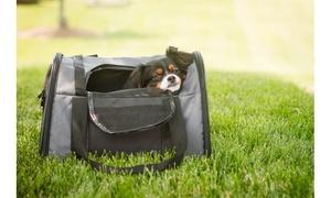 FurryGo Luxury Pet Travel Backpack/Carrier - Dark Grey