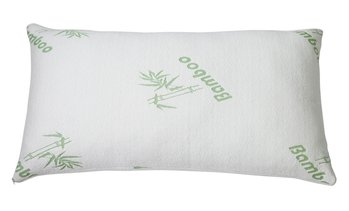 Bamboo Rayon Hypoallergenic Memory Foam Pillow - Queen Size (1 Or 2 Pack)