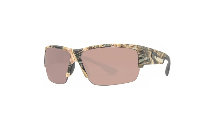 c607e7244d Costa Del Mar Hatch HT65 OSCP Mossy Oak Silver Copper Polarized 580P  Sunglasses