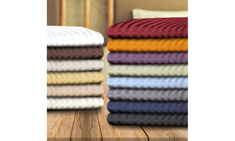 Superior 1500 Series 100% brushed Microfiber Striped Sheet Set Twin and Twin XL 23446f0f-9170-42f0-8535-1cb60b1625fc