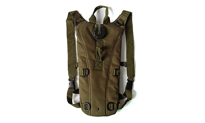 Portable Water Backpack Water Bag Nylon Water Resistant Water Army Bag