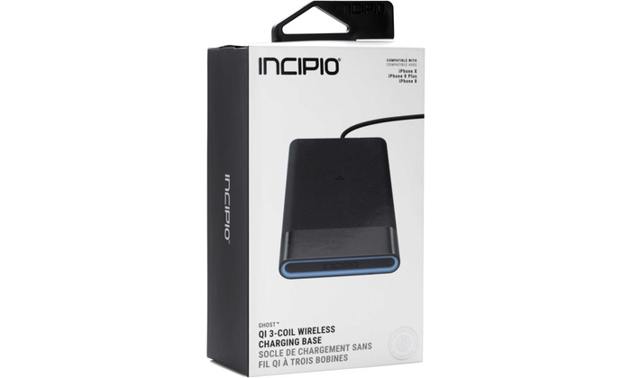 check out 7d0ae 55551 Up To 48% Off on Incipio - GHOST Qi 15W 3 Coil...   Groupon Goods