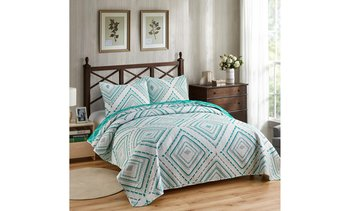 Luxury Collection 3 Piece Reversible Quilt Bedspread Set