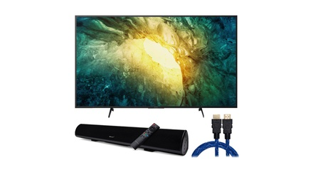 Sony KD65X750H 65-inch 4K UHD Smart LED TV with Soundbar