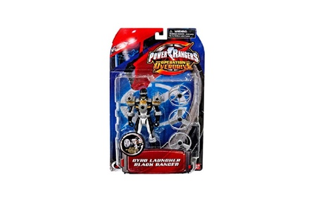 Power Ranger Operation Overdrive - Gyro Launcher Black Ranger cb2b151f-1547-4b27-83b5-21e67be1df97