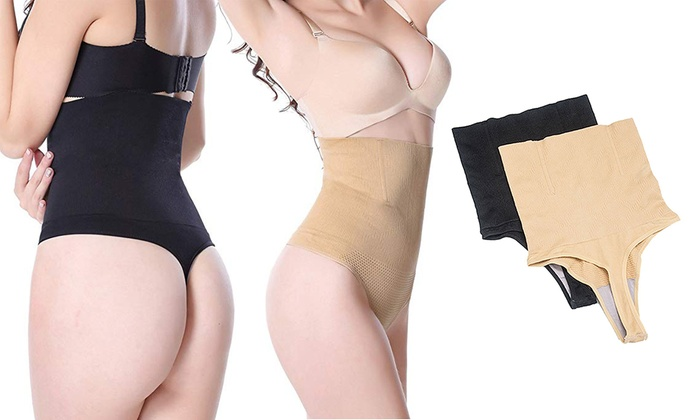 4f9f6af66fb Up To 65% Off on Women Thong High Waist Cinche...