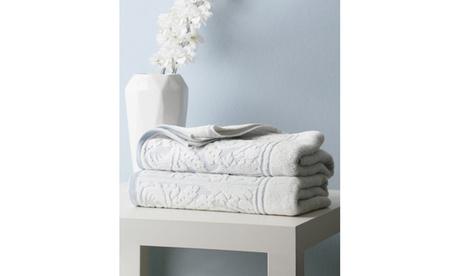 Rosita Luxury Sculpted Egyptian Cotton Towel Set