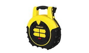 Stanley 33959 Four-Outlet Cord Reel Power Hub, 20 ft.