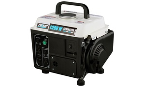 Pulsar 1,200W 2-Stroke or 3,500W Gasoline-Powered Portable Generator