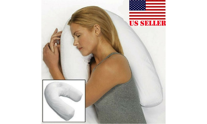 Sleeper Neck /& Back Pillow:Holds Your Neck Spine During Side Sleep Health USA