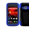 Insten Black Hybrid Stand Hard Premium Case For Zte Concord 2 Z730