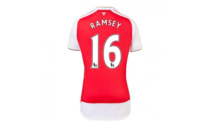 detailed look 8c6fc 2e0ed Boys Arsenal Jersey Home 2016 Ramsey 16