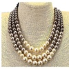 Luxury Simulated Pearl Choker Women Necklace