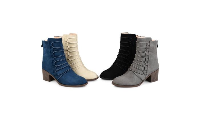 991199531f2ee Journee Collection Womens Comfort Cyan Bootie   Groupon