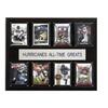"NCAA Football 12""x15"" Miami Hurricanes All-Time Greats Plaque"