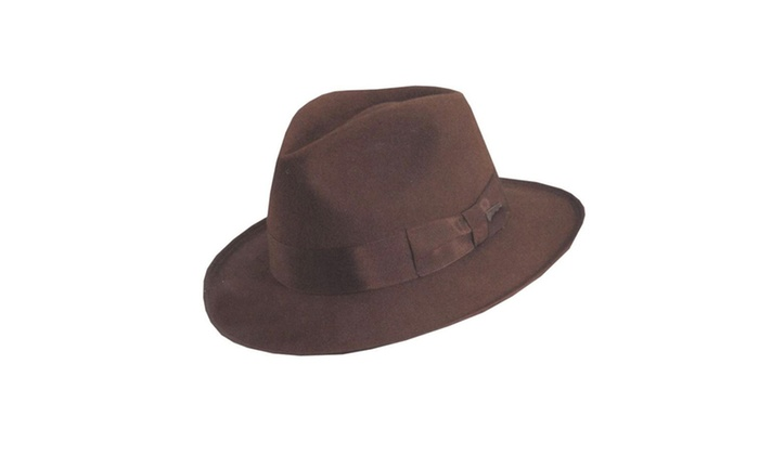 cf076988703 ... Morris Seasonal Costume Dorfman Pacific Indiana Jones Deluxe Hat ...