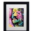 Dean Russo 'Ringo Starr' Matted Black Framed Art