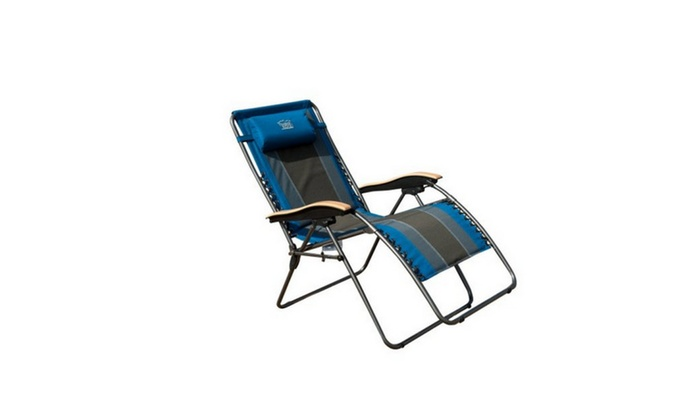 Timber Ridge Oversized XL Padded Zero Gravity Chair ...
