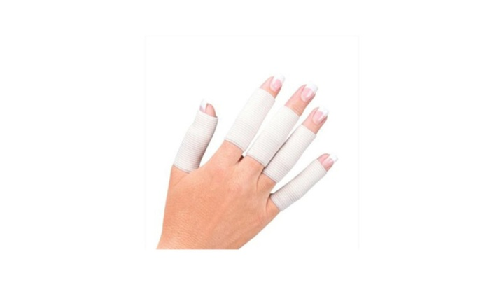 Arthritis Elastic Nylon Finger Sleeve Support Cover