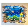 "3D Blue Ocean Wall Post Mural Decal for Kid Baby Bedroom 36"" x 24"""