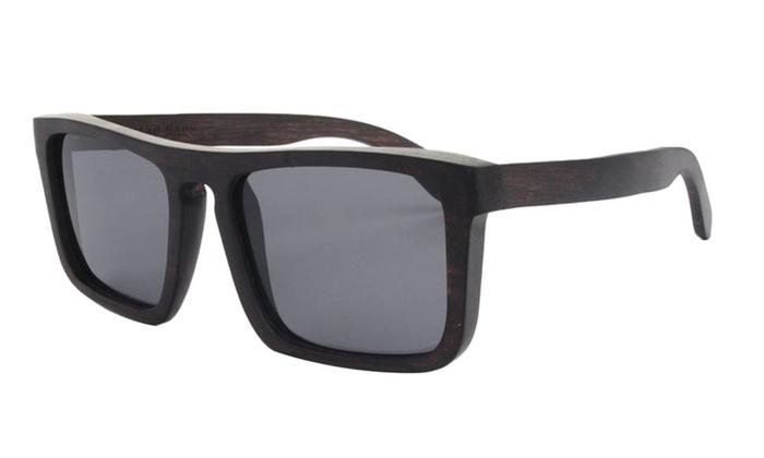 Wood Handmade Outdoor Polarized Sunglasses