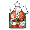 Christmas Funny flirty Apron, Cute Adjustable  Chef CooKing Aprons