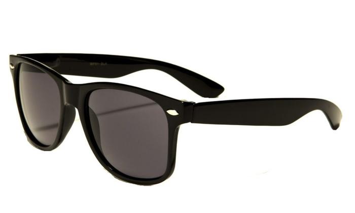 Retro Rewind Classic Polarized Wayfarer Unisex Sunglasses