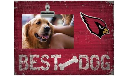 SO - NFL 'Best Dog' Clip Frame