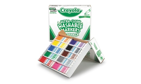 Crayola Ultra-Clean Washable Fine Line Markers (pack of 200) 31b50bd0-e86c-4c31-a923-435c19d43f84