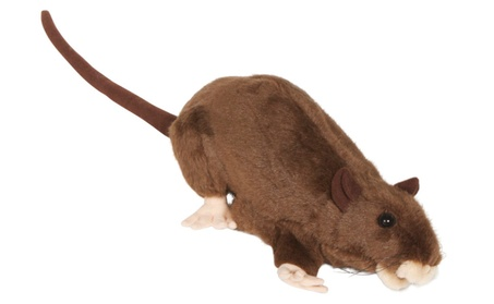 Sunny Toys NP8229B 13 In. Rat - Brown, Animal Puppet 5239d148-cefb-440b-bb45-9b9a9ae78f67