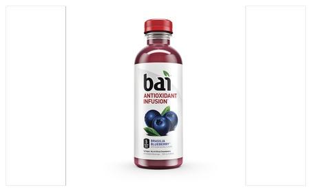 Bai Brasilia Blueberry, Antioxidant Infused Beverage, 18 Fluid Ounce