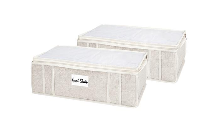 Groupon Goods: Simplify 2-Piece Sheet Storage Bag Set