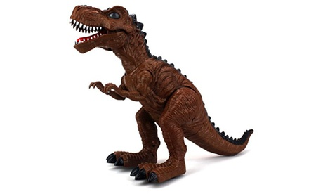 Dinosaur Family Tyrannosaurus Rex Battery Operated Walking Toy Dinosaur Figure a2528fc3-2429-4547-9d73-350683264f25