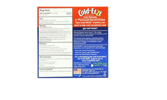 Cold-Eeze Cherry Flavor 18 Lozenges and
