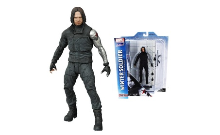 Marvel Select: Winter Soldier Action Figure Captain America: Civil War e022e8b6-7689-4fde-82cb-66cf23766f60