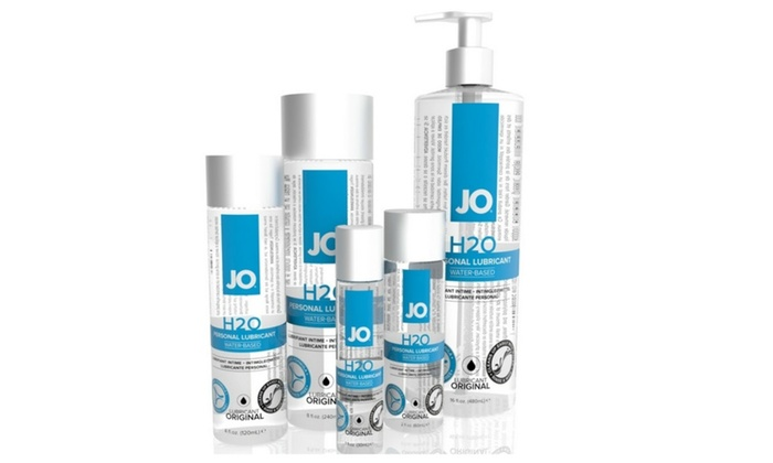 Jo H2o Water Based Lubricant Groupon