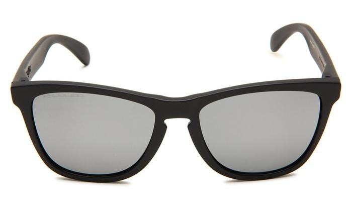 22af2f74d53 Oakley Frogskins Polarized Sunglasses With Matte Black Frame