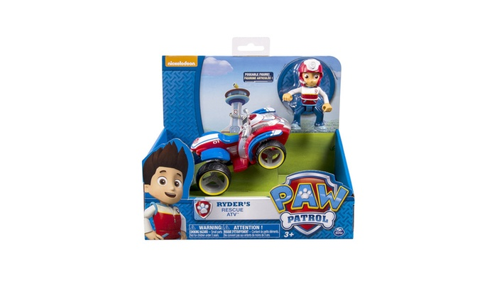 Paw Patrol - Ryder's Rescue ATV, Vehicle and Figure