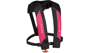 Onyx Outdoors, A/M-24 Auto/Manual Life Jacket, Pink