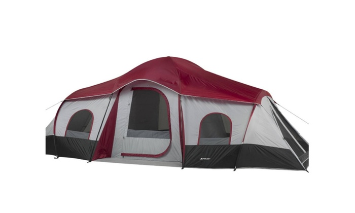 Product Details  sc 1 st  Groupon & Ozark Trail 10-Person 3-Room Cabin Tent | Groupon