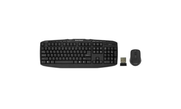 48d5e55d0e2 Gear Head KB5165W Multimedia Wireless Keyboard and Optical Mouse