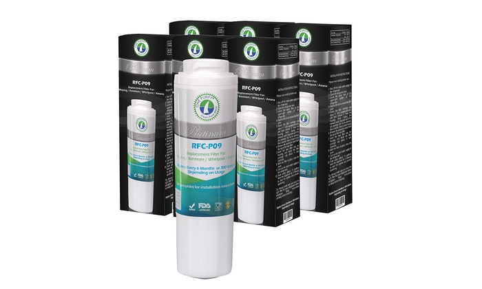 UKF8001, Filter 4 Compatible Refrigerator Water Filter | Groupon