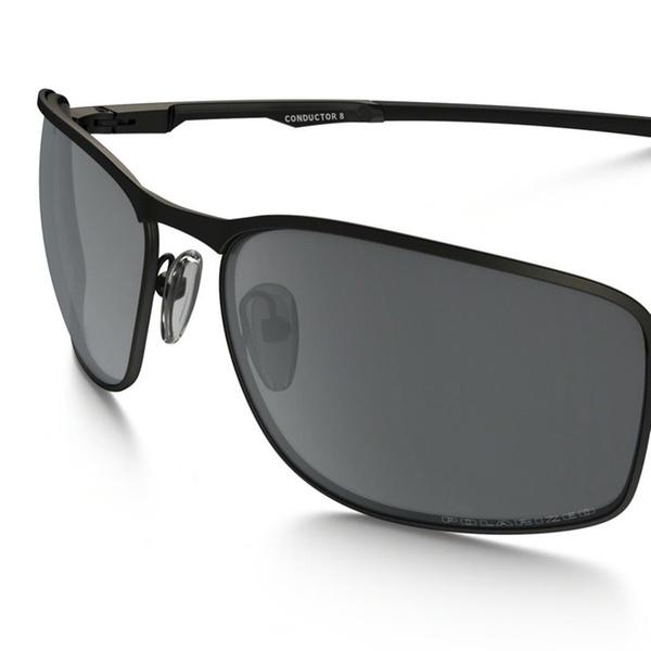 594dc16c5492 Oakley Men's Conductor 8 Matte Black Frame / Black Iridium Polarized Lenses