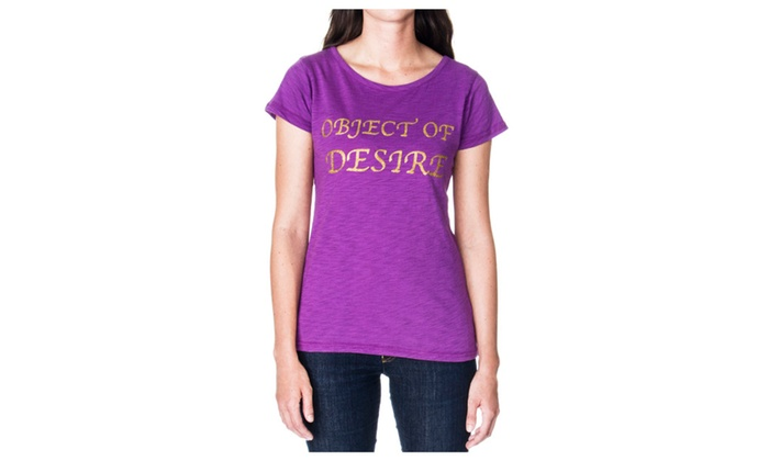 Women's Object Of Desire Graphic T-Shirt